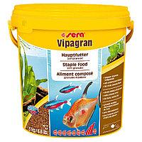 Корм для рыб основной в гранулах Sera VIPAGRAN 10 л. 2.7 кг. (ведро)