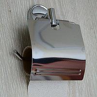 Туалетный бумагодержатель, хром
