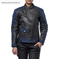 Куртка женская кожаная-джинс Teacher Jeans, M