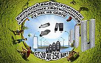 Консольные уличные светодиодные светильники 50-200 ватт. СКУ Кобра. ску, дку. led ску. led дку.
