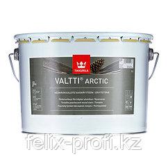 VALTTI ARCTIC перламутровая фасадная лазурь на основе натур. масла  9 л.