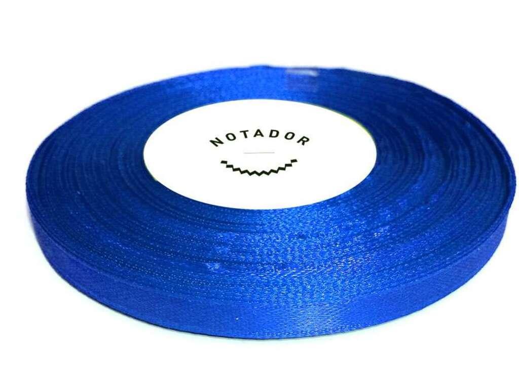 Лента атласная для подшивки документов синяя, 33 м