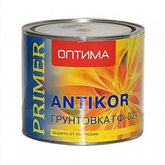 ГРУНТ ГФ-021 красно-коричневая  2,6 кг ОПТИМА