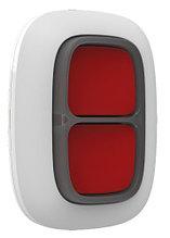 Ajax DoubleButton - Беспроводная экстренная кнопка (белый, чёрный).