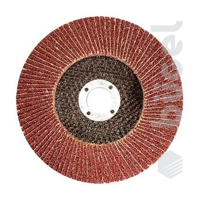 Круг лепестковый торцевой, P 40, 125 x 22,2 мм
