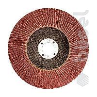 Круг лепестковый торцевой, P 60, 125 x 22,2 мм