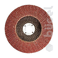 Круг лепестковый торцевой, P 100, 125 x 22,2 мм