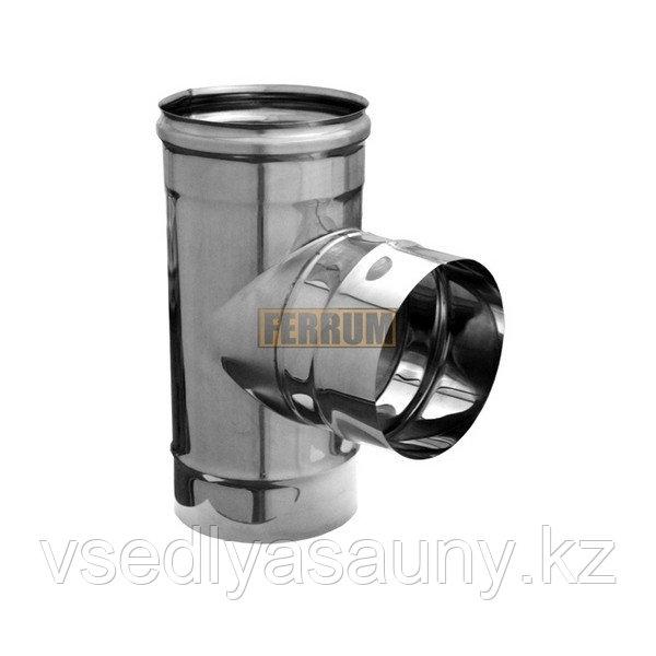 Тройник- Д 90 (430/0,8 мм) Ф 200. Ferrum.