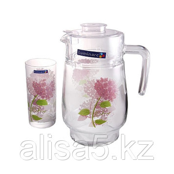 Hortensia розов. набор для напитков 7пр., шт