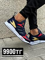 Кроссовки Adidas Sense темно син крас 8030-5