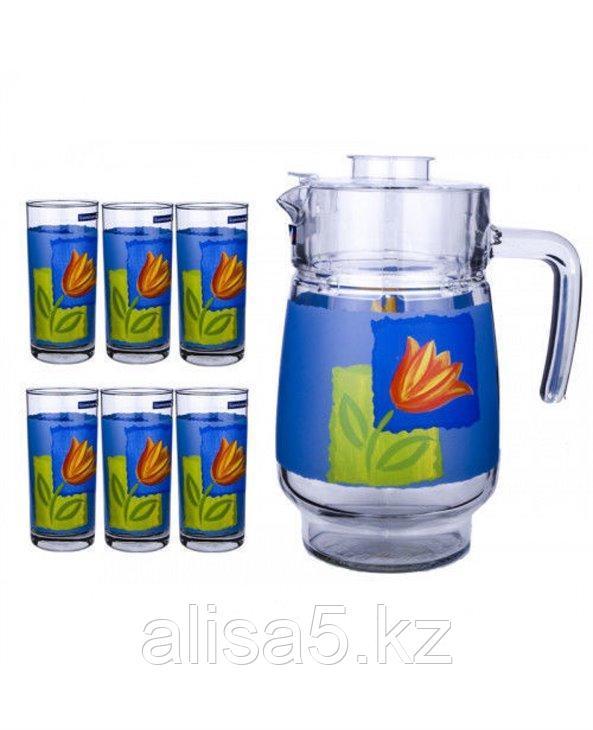 MELYS AZUR набор для напитков 7 предметов, шт