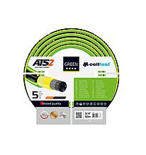 Садовый пятислойный шланг GREEN ATS 15-121 3/4(19мм) 50м   CELLFAST(Польша)