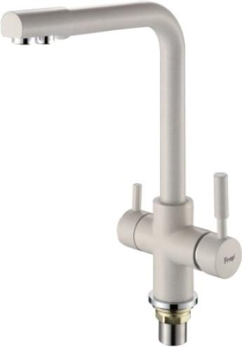 Смеситель для кухни FRAP H52 F4352-24 c подключением к фильтру (молочный матовый)