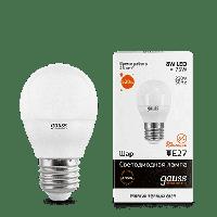 Лампа Gauss 8W E27 2700K