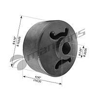 Сайлентблок полурессоры SAF 155x32x114