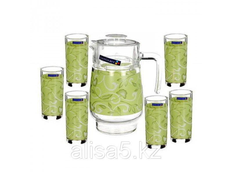 PLENITUDE GREEN набор для напитков 7 предметов, шт