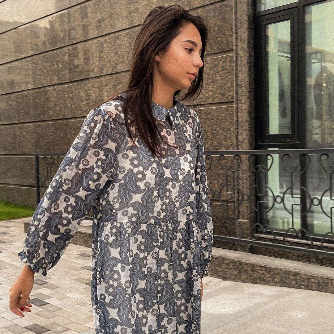 Шифоновое платье Hanym Lux (2021)
