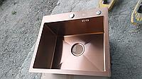 Кухонная мойка ZEUS 60х45 Бронза
