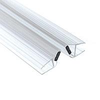 Профиль DG-3 магнитный прозрачный белый. 2200мм. Универсальный 90°, 180° | FGD-105.1 CL