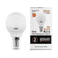 Лампа Gauss 10W E14 2700K