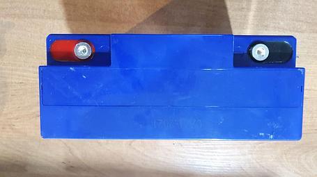 Аккумуляторная батарея 12В 20Ач (Д180*Ш75*В165), фото 2