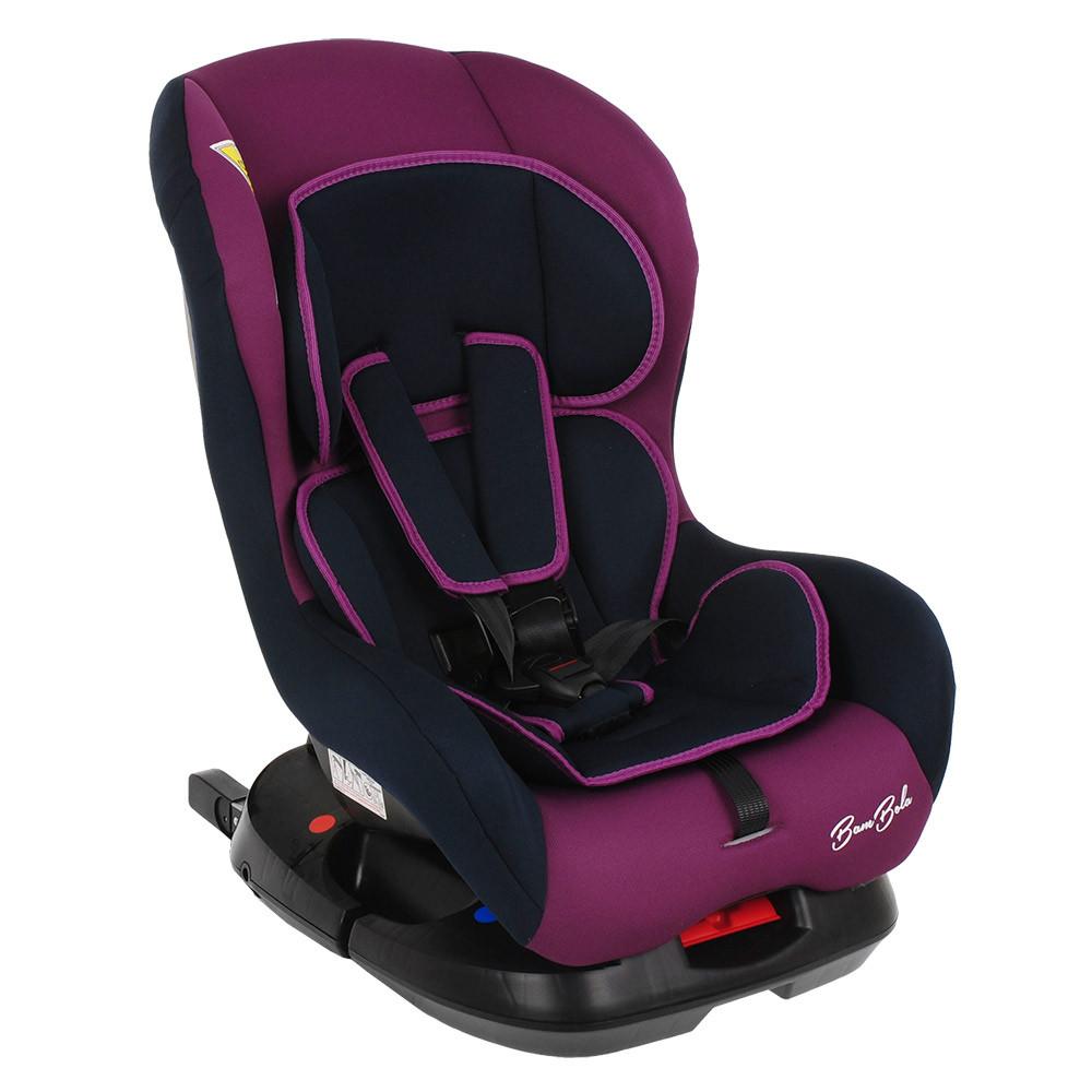 BAMBOLA Удерживающее устройство для детей 0-18 кг BAMBINO. Фиолетовый/Синий