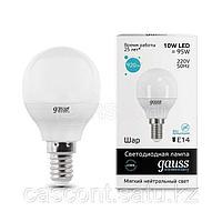 Лампа Gauss 10W E14 4100K