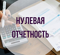 Представление налоговой отчетности (нулевой)