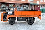 Электротележка ЕТ грузоподъемностью 2 тонны, управление сидя, пневматические шины, фото 5