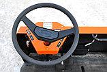 Электротележка ЕТ грузоподъемностью 2 тонны, управление сидя, пневматические шины, фото 6