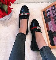 Женские туфли на низком ходу Ekonomissa gucci