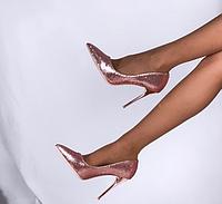 Женские туфли Miss Miller золотистые