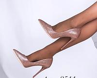 Женские туфли Miss Miller розовые