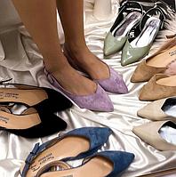 Женские туфли на низком ходу yiqLian