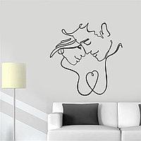 """Интерьерная наклейка на стену и мебель """"Одним движением руки..."""""""