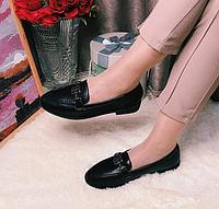 Женские туфли на низком ходу Ekonomissa кожа