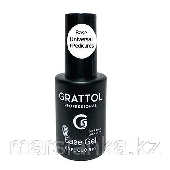 База для педикюра Grattol Rubber Base Universal+Pedicures,9мл