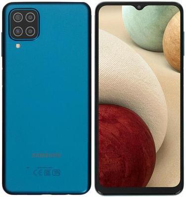 Смартфон Samsung Galaxy A12 64 ГБ синий (SM-A125FZBVSKZ)