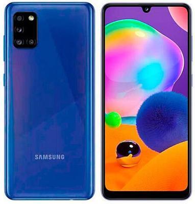 Смартфон Samsung Galaxy A31 64 ГБ голубой (SM-A315FZBUSKZ)