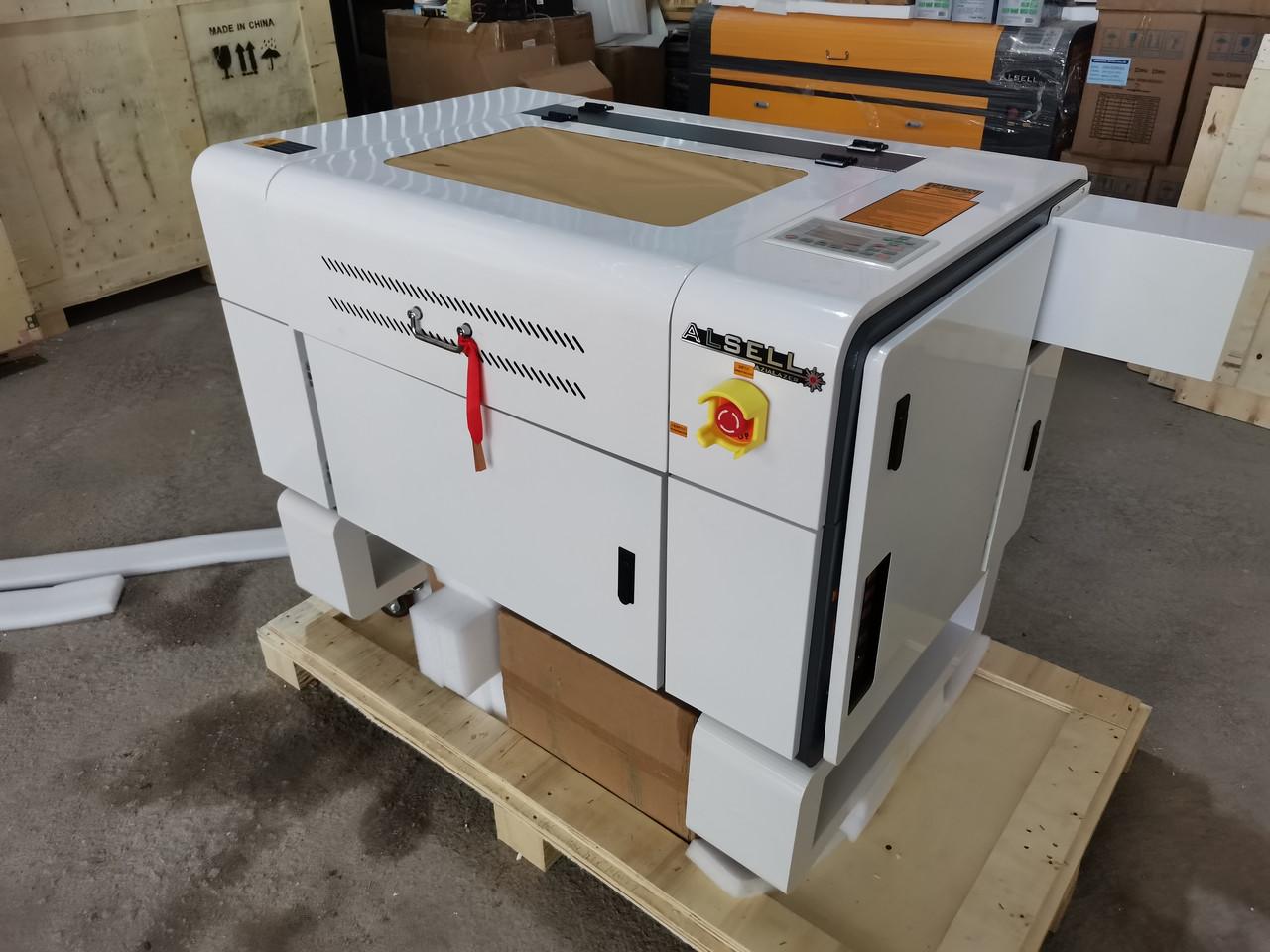 Лазерный станок Prof GS60*40cm RuiDa 50W (мультифункциональный) (МЕТАЛЛИЧЕСКИЕ НАПРАВЛЯЮЩИЕ)