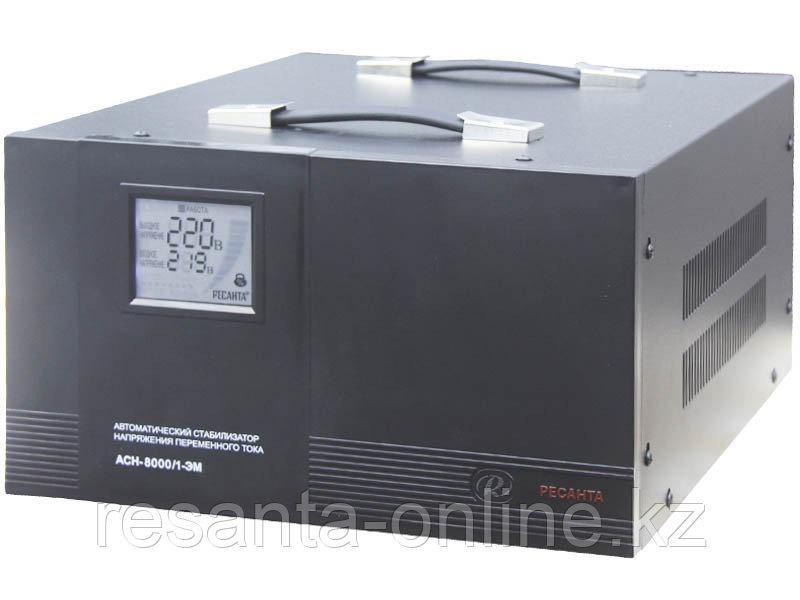 Стабилизатор напряжения электромеханический Ресанта АСН-8000/1-ЭМ в Караганде