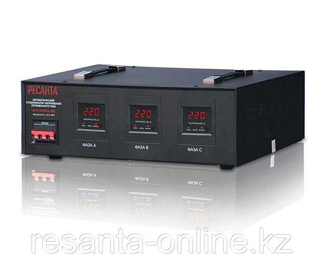 Стабилизатор  трехфазный АСН-  3000/3 Ресанта
