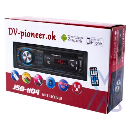 Автомагнитола Pioneir ok JSD-1104