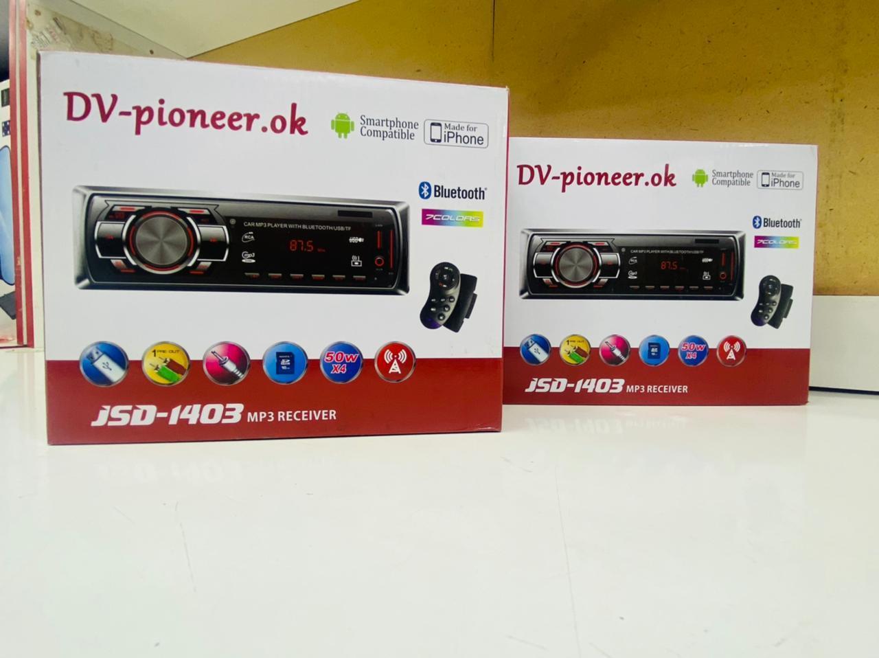 Автомагнитола DV-Pionir JSD-1403