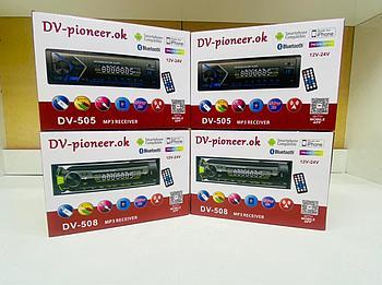 Автомагнитола DV PIONEER 505 BTBluetooth USB AUX FM пульт