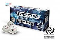 Шарики для настольного тенниса EXPERT 3* ITTF (10 мячей в упаковке, белые)