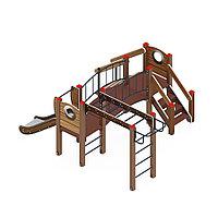 Детский игровой комплекс «Карапуз» ДИК 1.001.05 (005 H=750)