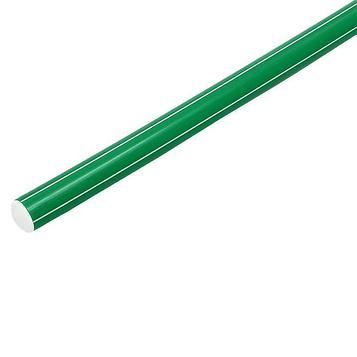 Палка гимнастическая 90 см, цвет зелёный