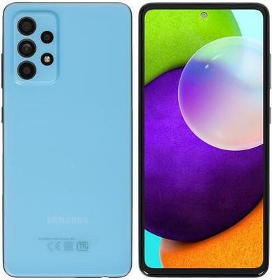 Смартфон Samsung Galaxy A52 128 ГБ голубой (SM-A525FZBDSKZ)