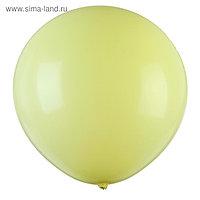 """Шар латексный 32"""" «Макарун», 1 шт., цвет жёлтый"""